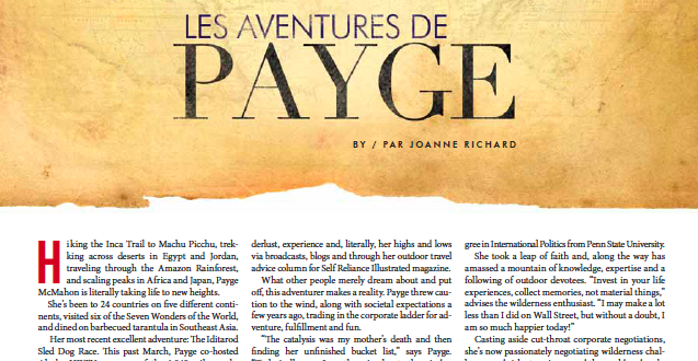 "CG Magazine interviews McMahon in ""Life is a Payge Turner"""