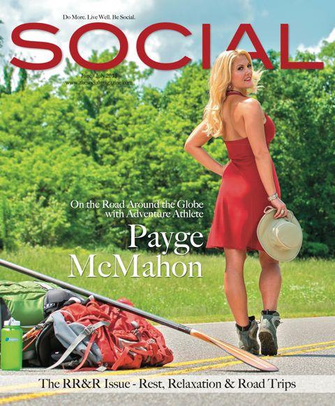 Social Magazine Cover