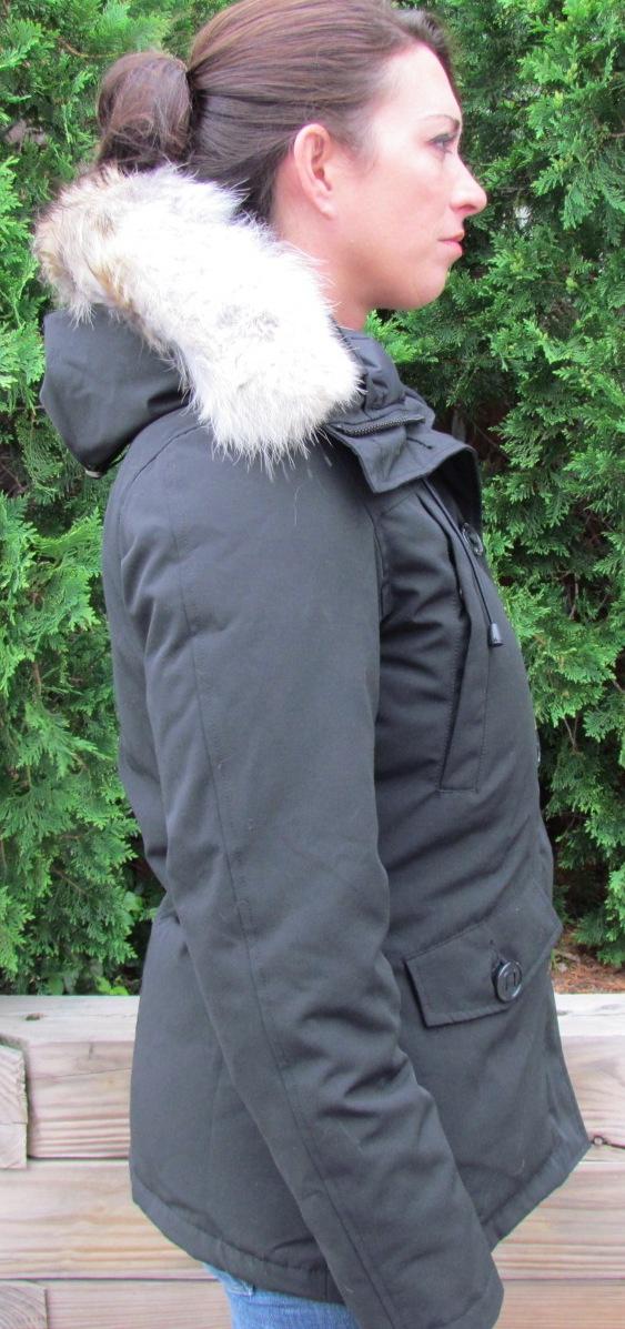 canada goose trillium parka size review