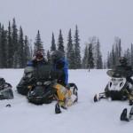 Alaska Snowmachining